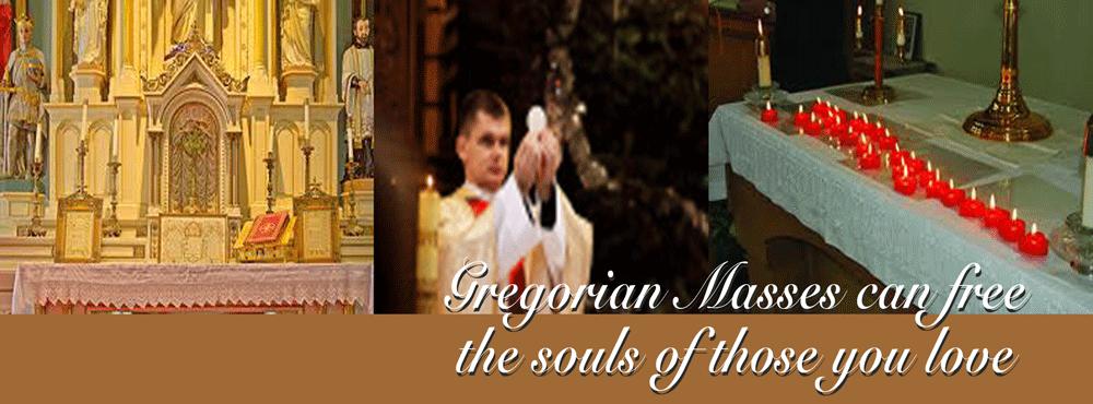 Gregorian Masses for the dead